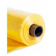 Полиэтиленовая светостабилизированная пленка 150мкм рукав 3м длина 10м. желтая