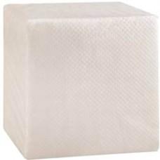 Салфетки бумажные 1-слойные, белые, 100 шт.