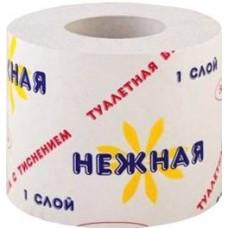 Бумага туалетная Нежная