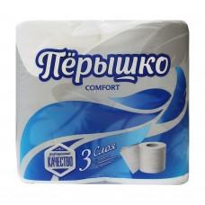 Бумага туалетная Перышко