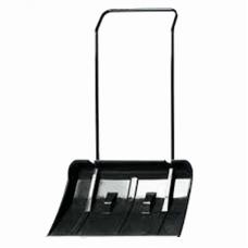 Движок для снега с П-образной ручкой пластмасс. на колесиках
