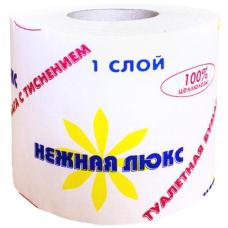 Бумага туалетная Нежная ЛЮКС