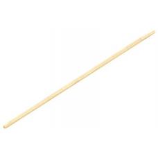 Черенок для метлы деревяный 25 мм, 120 см ВС
