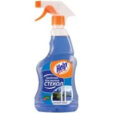 Средство для чистки стекол Хелп с триггером 750 мл