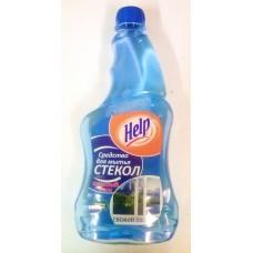 Средство для чистки стекол Хелп запасной блок 750 мл