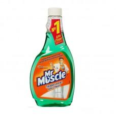 Средство для чистки стекол Мистер Мускул запасной блок 500 мл