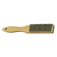 Кордщетка деревяная с металл. ворсом