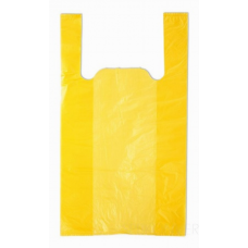 Майка ПНД 38x72 см 25 мкм желтая