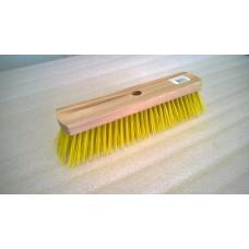 Швабра деревянная Барс 6-рядная жесткая щетина с резьбой